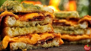 Download Ultimate Bacon Toast! - Crispy Cheese Heaven! Video