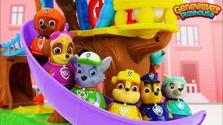 Download Best Learning Video For Kids Paw Patrol Train and Weeble Treehouse Playset Colors & Ordinal Numbers Video
