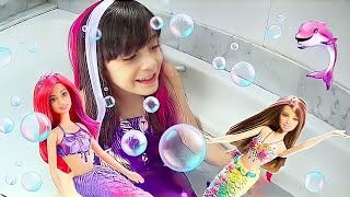 Download SONHO DE SEREIA ★ Brincadeira, imaginação e diversão com meu presente de Dia das Crianças (Unboxing) Video