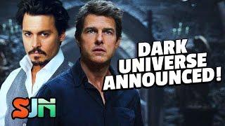 Download Dark Universe Announced! (The Mummy, Bride of Frankenstein) Video