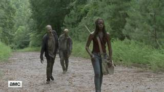 Download The Walking Dead 'Michonne on the Road' Official Sneak Peek Ep 707 Video
