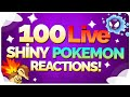 Download 100 Live Shiny Pokemon Reactions! Shiny Pokemon Montage / Compilation! Video