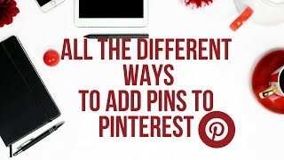 Download HOW TO ADD YOUR OWN PINS TO PINTEREST Video