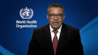 Download WHO Director-General Dr Tedros message for World Health Day 2018 Video