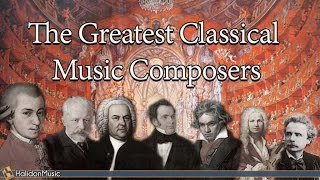 Download The Greatest Classical Music Composers: Mozart, Beethoven, Bach, Tchaikovsky... Video