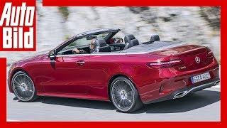 Download Mercedes-Benz E-Klasse Cabrio W 213 (2017) / Fahrbericht / Details / Interieur / Exterieur / E 300 Video