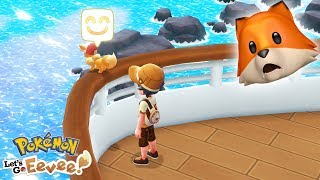 Download ALL ABOARD THE SS ANNE!! | Pokémon Let's Go Eevee + Pikachu #9 Video