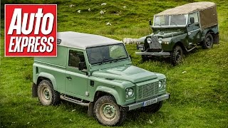 Download Land Rover Defender Heritage review & its ancestors driven Video