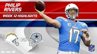 Download Philip Rivers Slices Through Dallas w/ 434 Yds & 3 TDs! | Chargers vs. Cowboys | Wk 12 Player HLs Video