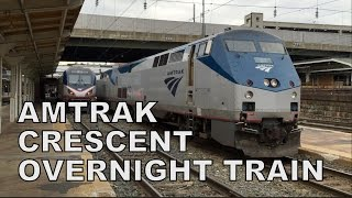 Download Amtrak Crescent #20 Overnight Train Experience! Video