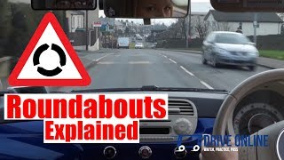 Download Roundabouts Driving Lesson - How To Negotiate Roundabouts Top Tips. Video