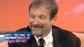 Download Robin Williams Interview Mrs Doubtfire & Aladdin Voices To Family Life | Blast From The Past Video