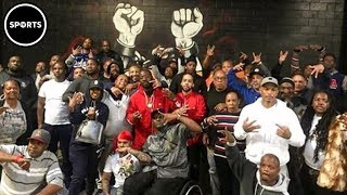 Download Bloods And Crips Gather For UNITY Meeting For Nipsey Hussle Video