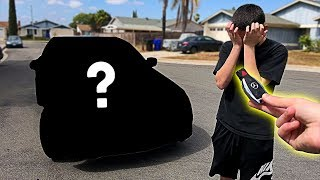 Download I pranked him... then I BOUGHT him his DREAM CAR!! **emotional surprise** Video