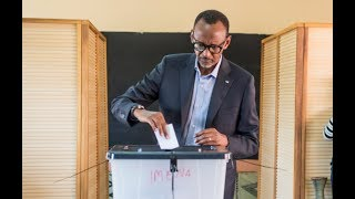 Download PRESIDENT KAGAME & FAMILY CAST THEIR VOTE Video