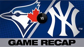 Download Grichuk's 2-run knock leads Blue Jays to win | Blue Jays-Yankees Game Highlights 7/13/19 Video