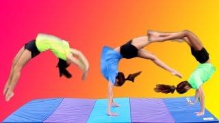 Download 100 SKILL GYMNASTICS CHALLENGE! Video
