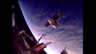 Download U.S. Commercial Cargo Ship Departs Space Station Video
