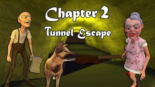 Download TUNNEL ESCAPE - Grandpa and Granny House Escape Full Gameplay | Horror Game New Update Video