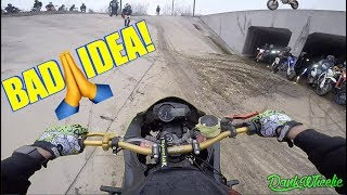 Download Supermoto Sunday On A Street Bike! Video