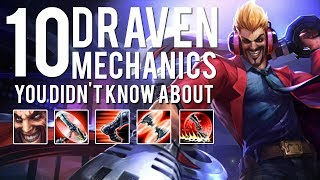 Download 10 Draven Mechanics You Didn't Know About Video
