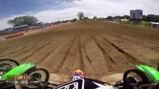 Download GoPro: Shane Mcelrath Moto 2 - Red Bud MX Lucas Oil Pro Motocross Championship 2016 Video
