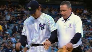 Download Matsui breaks wrist while diving for ball Video