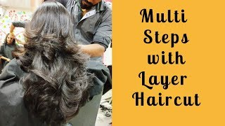 Download Multi steps with layer haircut 2018(Advance) Video