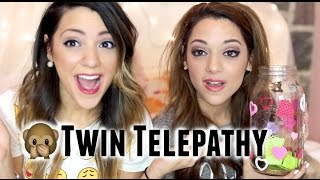 Download Twin Telepathy Challenge With NikiAndGabiBeauty Video
