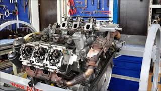 Download LKW Mercedes Benz Actros OM501LA Euro 5 (MP2/MP3) Motor Aufbau Video
