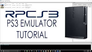 Download RPCS3 Emulator | Download, Setup, & Configure Tutorial | Play Sony PS3 Games on Your PC! Video