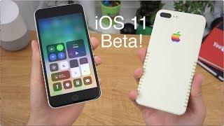 Download Apple iOS 11 Beta Impressions! Video