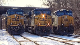 Download Triple CSX Meet In The Snow Video