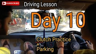 Download Mom Driving Lesson Day 10 | Parking and Clutch Practice Video