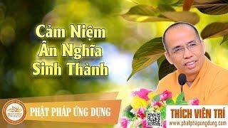 Download Cảm Niệm Ân Nghĩa Sinh Thành (KT69) - Thích Viên Trí Video