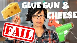 Download GLUE GUN & CHEESE | DIY Fondoodler | extrude melted cheese Video