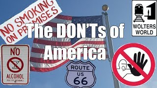 Download Visit America - The DON'Ts of Visiting The USA Video