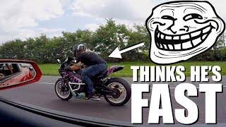 Download 950hp Nitrous Camaro ZL1 Trolls A Honda Liter Bike!!! Video