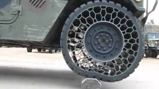Download Cool new army tire technology Video