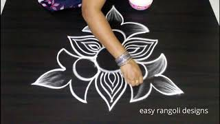 Download Freehand Kolam designs   How to draw rangoli without dots   Latest muggulu Video