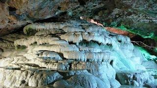 Download Kaklik Cave / Kaklık Mağarası - or underground Pamukkale, Denizli, Turkey, 5/26/2014 Video