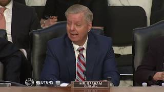 Download Trump should think 'long and hard' on Syria: Senator Lindsey Graham Video