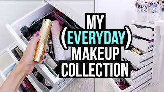 Download What's in my EVERYDAY MAKEUP COLLECTION? (Fall 2017 Edition) || RachhLoves Video