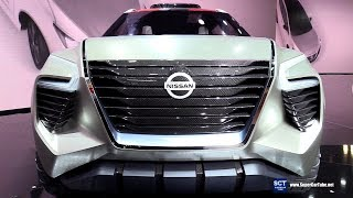 Download Nissan Xmotion Concept - Exterior and Interior Walkaround - Debut 2018 Detroit Auto Show Video