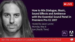 Download How to Mix Dialogue, Music & SFX w/Essential Sound in Premiere Pro Video