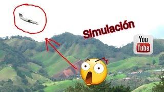 Download Simulación de como se estrello el avión Chapecoense Video