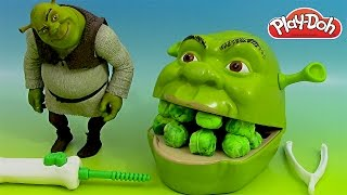 Download Play Doh Shrek Pâte à modeler Le dentiste ♥ Play doh Shrek 2 Rotten Root Canal Playset Video