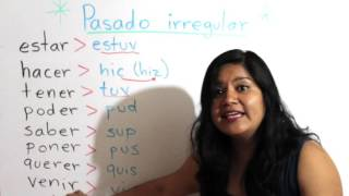 Download Pretérito perfecto simple irregular: ″estuve″, ″quise″... Video