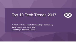 Download Top 10 Tech Trends 2017 Webinar Video