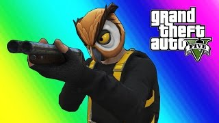 Download GTA 5 Online Funny Moments - Bubble Daryl Shotgun & Sumo Gamemode (Give Birth!) Video